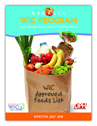 WIC Approved Foods List | Georgia Department of Public Health