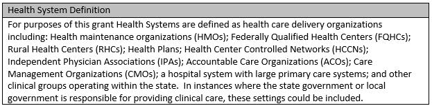 health system definition