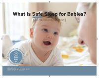 safe to sleep flip chart english