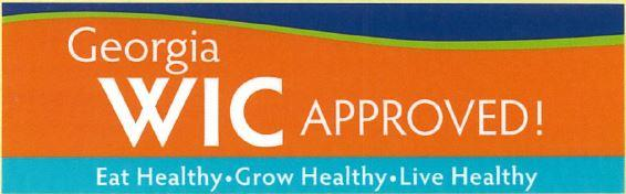 WIC Approved banner
