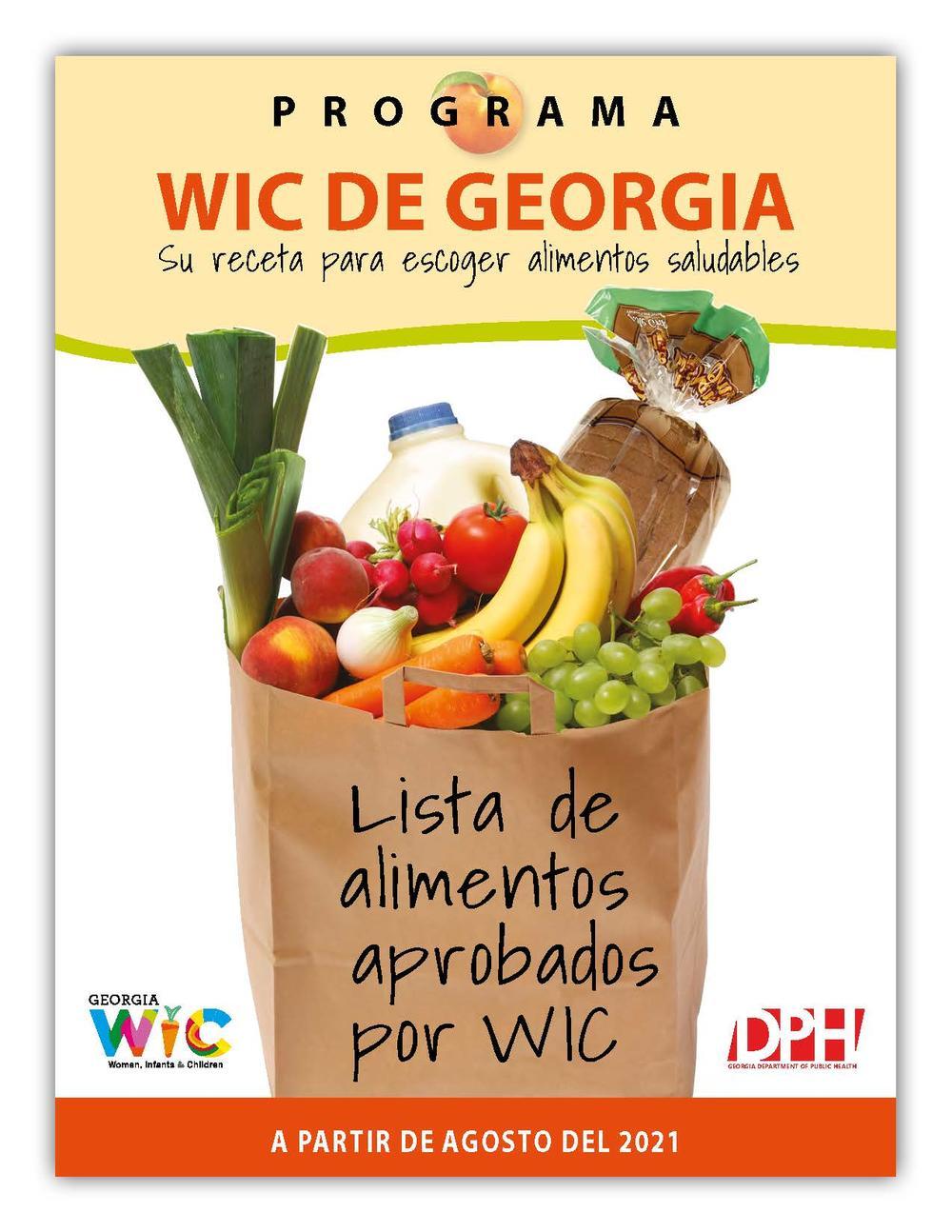 Lista de alimentos aprobados de WIC 2021